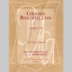 Grand Roussillon (A.O.C)