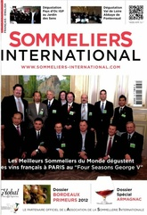 Sommeliers International  N° 136 du 11 Juillet 2012