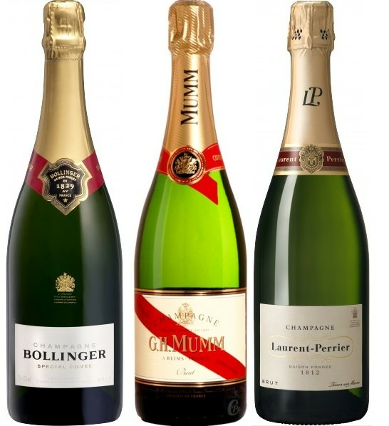 Champagne combien de degrés
