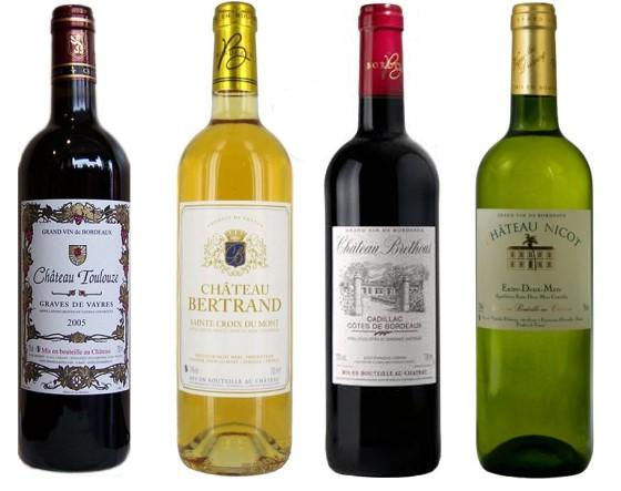 photo vin bordeaux graves blanc