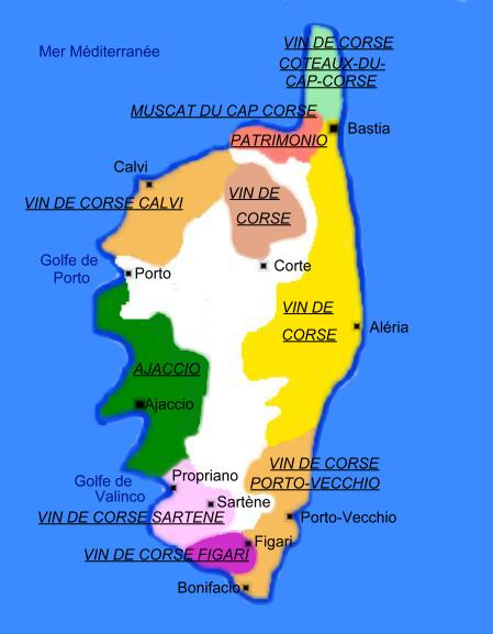 corse region