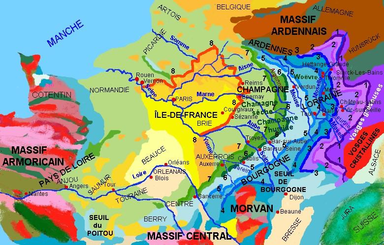 Les vignobles de lorraine la r gion lorraine lorraine for Region du 59