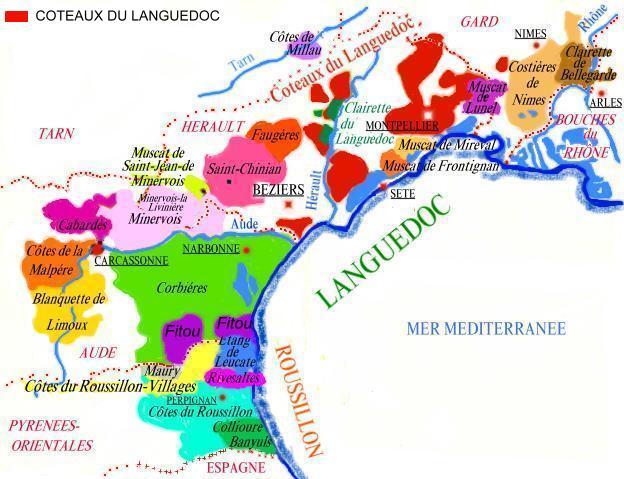 Le Vignoble Du Languedoc Roussillon La Region Languedoc Roussillon Langedoc Roussillon Regions Vins Vignesvignerons
