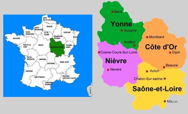 region-de-la-bourgogne